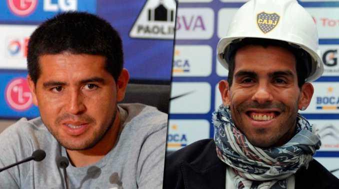 Riquelme o Tevez: ¿quién te gustaría que sea presidente de Boca en un futuro?