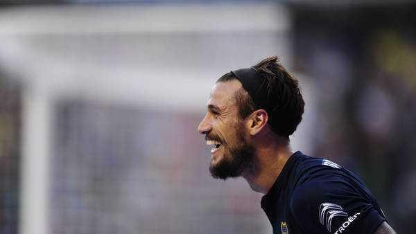 Osvaldo: �No creo que Boca sea el equipo que mejor juega�