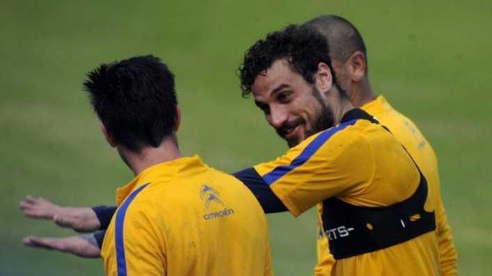 Osvaldo se ilusiona con la Libertadores
