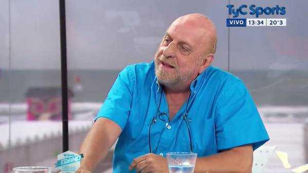"""Pagani, ante el retiro de Riquelme: �Es el segundo inventor del fútbol"""""""