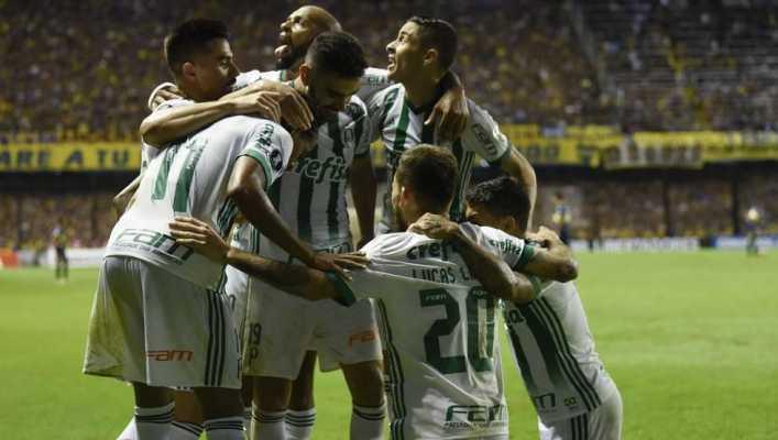 Palmeiras derrota a Boca y ya está en octavos