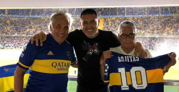 Para Rojitas, Román es el máximo ídolo de Boca