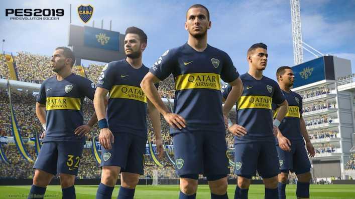 PES 2019 tiene la licencia exclusiva en videojuegos de Boca Juniors