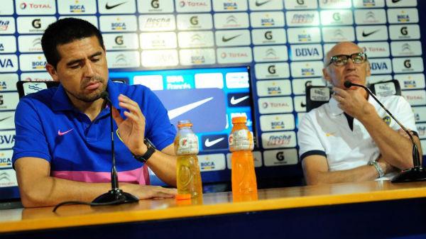 Riquelme pidió pruebas de las internas en Boca y amenazó con no hablar más con la prensa