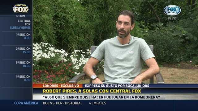 "VIDEO: Pirés: ""Mi sueño es jugar en la Bombonera"""