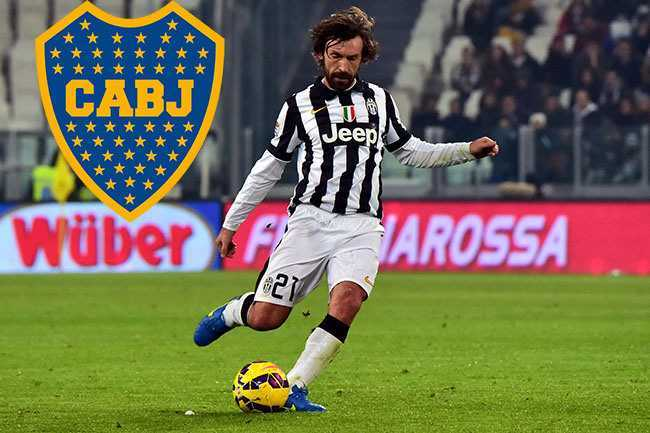 ¿Pirlo, De Rossi Y Tévez a Boca Juniors?