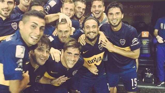 "Polémica por la ""selfie"" de Osvaldo en Boca"