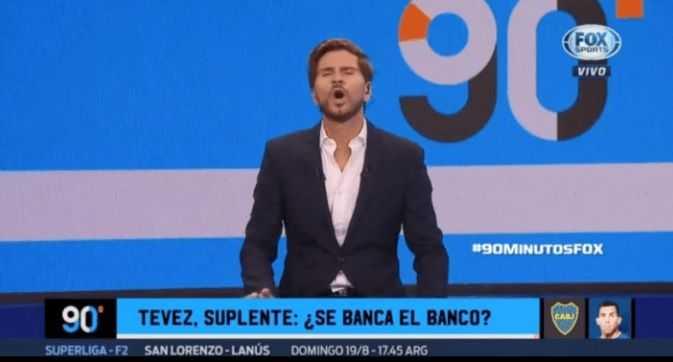 POLLO VIGNOLO LO BANCO A TEVEZ POR SER SUPLENTE