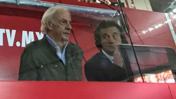 Por qué César Menotti comentó sólo 4 minutos de Boca-Chivas