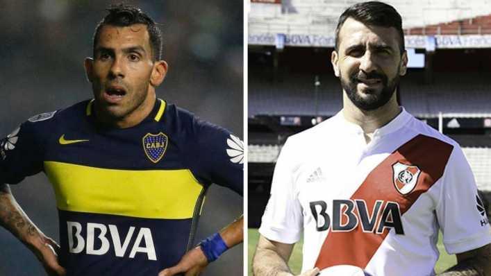 Pratto contra Tévez: duelo por el gol en la Supercopa