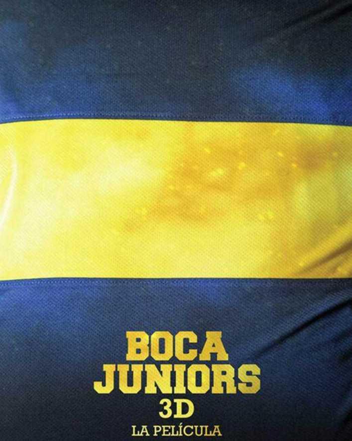 VIDEO: Presentan Boca Juniors 3D, una película con la participación de ídolos xeneizes