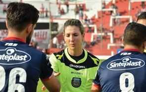 Primera mujer árbitro en primera división