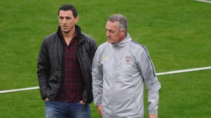 ¿Qué dijo Alfaro de una probable renovación con Boca?