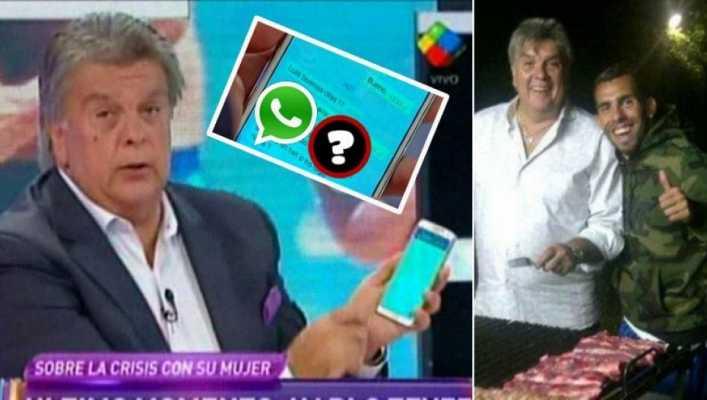 reaccion tevedz con ventura por whatsapp rumor crisis
