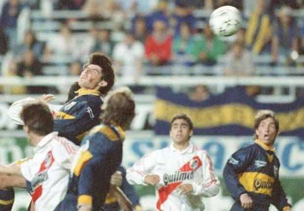 VIDEO: A 20 años, reviví el inolvidable Superclásico que ganó Boca con el 'nucazo' de Guerra