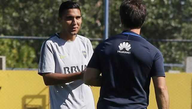 Reynoso: Me divierto jugando al lado de Tevez