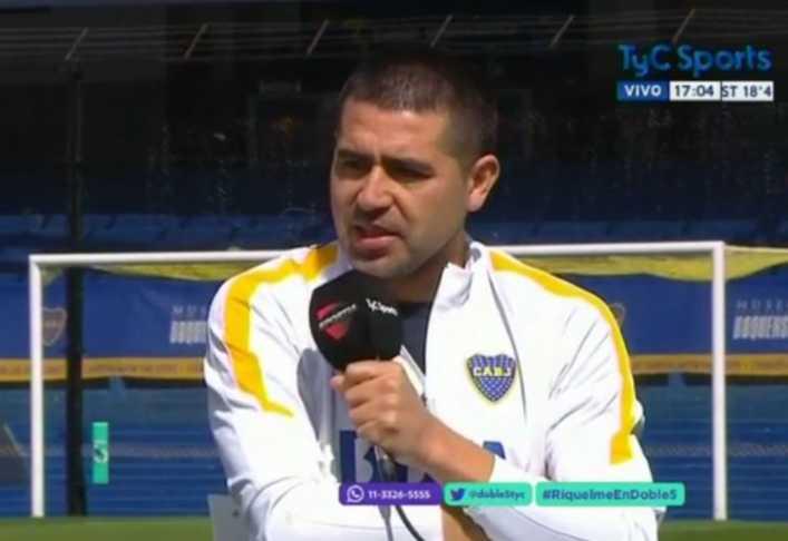 Riquelme: Boca no tiene jugadores con experiencia