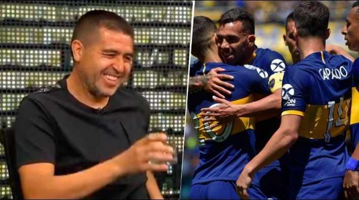 Riquelme contó que llamó a un jugador de Boca