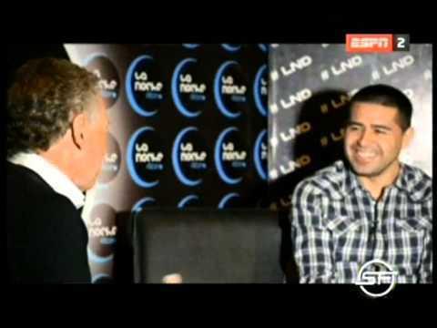 VIDEO: Juan Román Riquelme en SF