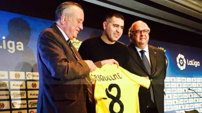 Riquelme: Fui muy feliz en el Villarreal