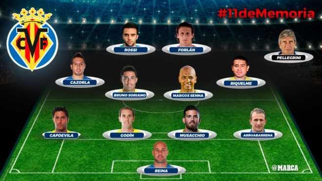 Riquelme lidera al mejor Villarreal de la historia