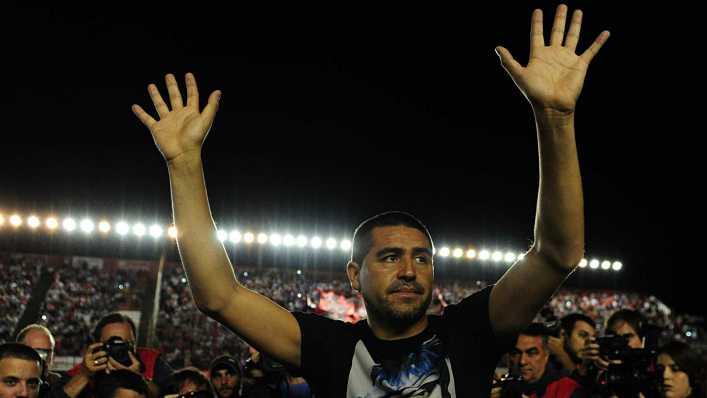 Riquelme sobre el VAR en la semifinal de la Libertadores