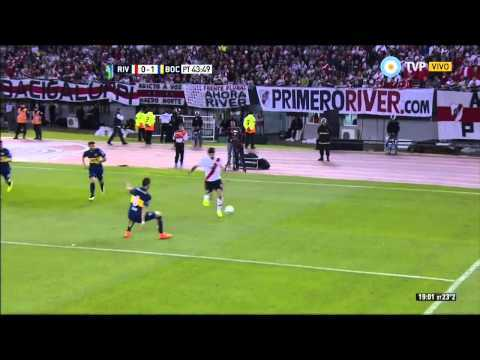 VIDEO: River Plate 0 - 1 Boca Juniors - Fecha 24 Torneo Argentino 2015