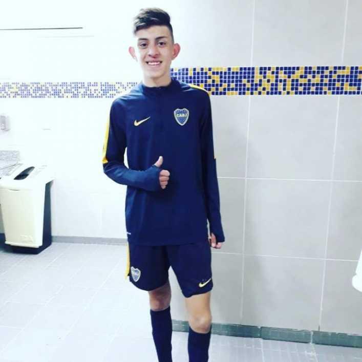 Rodrigo Gómez se probó en Boca Juniors