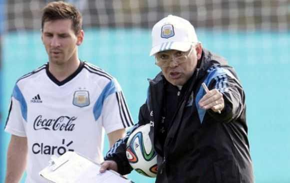 """Sabella generó """" desencanto"""" en Messi al sacar a Banega"""