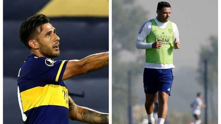 Salvio - Zárate, la dupla ofensiva de Boca vs. Sarmiento