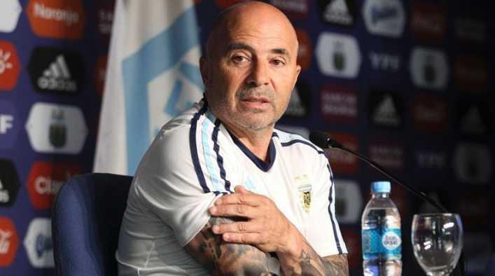 Sampaoli habló de Lautaro Martínez y Tevez