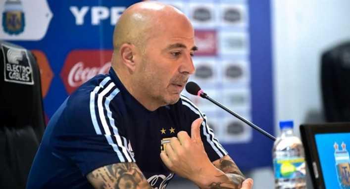 Sampaoli: Si estamos a la altura de Messi, el partido va a salir muy bien