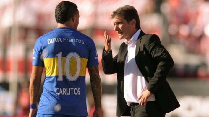 Schelotto habló sobre Carlos Tévez