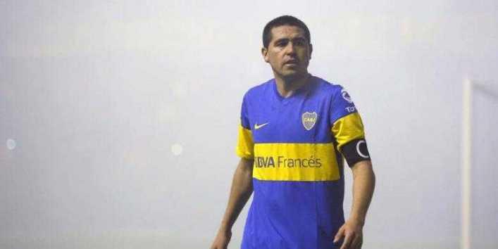 Juan Román Riquelme se fue de Argentinos Juniors