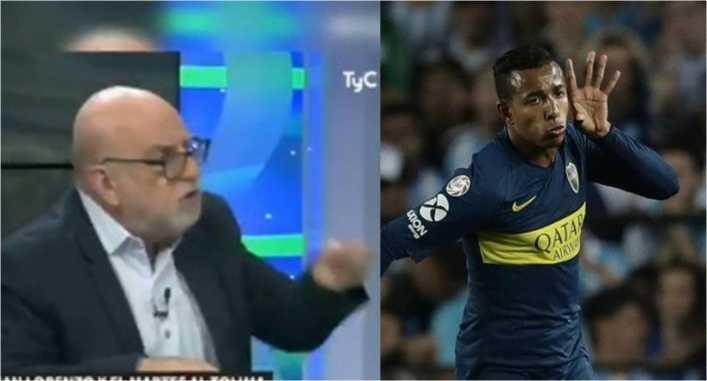 Sebastián Villa generó fuerte pelea en programa de TV