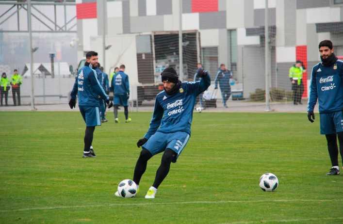 Sin Messi, Sampaoli ya pensó los 11 de Argentina para enfrentar a Nigeria