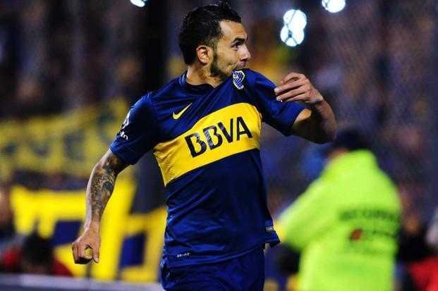 """""""Soy mejor jugador que actor"""" dijo Tevez en la presentación de la película de Boca"""