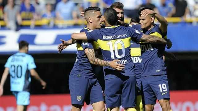 VIDEO: Tercer gol de Boca, que generó inexplicable protesta por no devolver la pelota