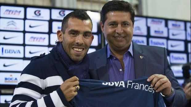 Tevez: A uno lo tienta la chance de volver, pero tengo un compromiso firmado