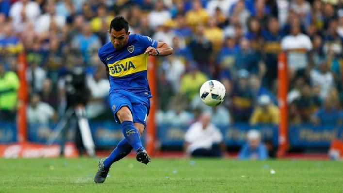 VIDEO: Carlos Tévez anotó un golazo con Boca Juniors ante Atlético Rafaela