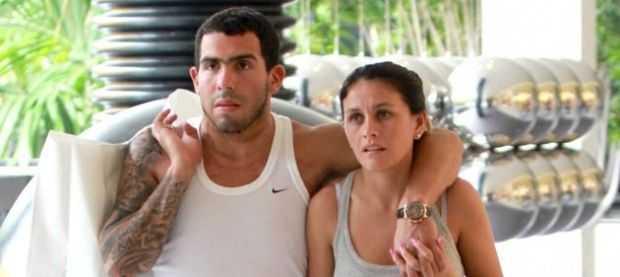 Tevez contó cómo se reconcilió con su mujer tras una pelea