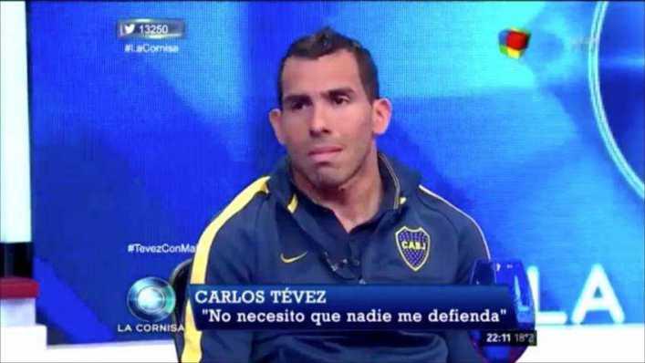 Tevez contó en la tele cómo va a votar en octubre