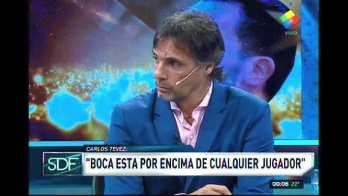 VIDEO: No se guardó nada: Tevez le respondió al polémico Riquelme