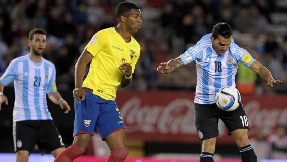 Tevez se refirió a su posición en la Selección argentina