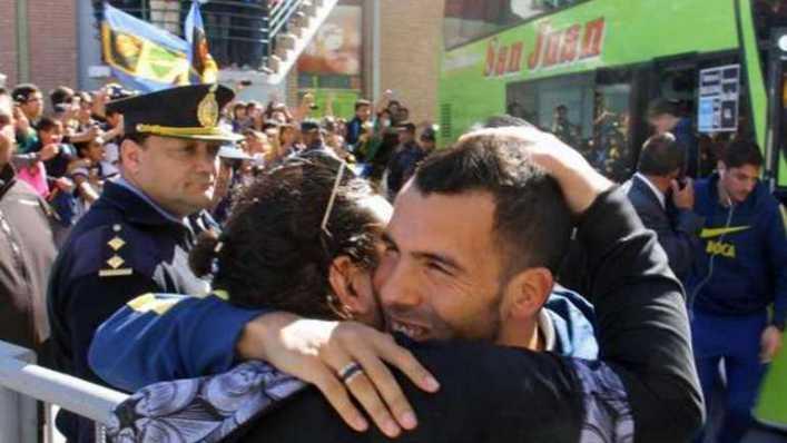 Tévez, solidario con una fundación de San Juan