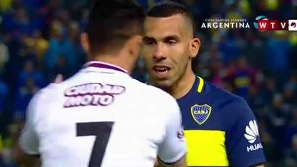 VIDEO: Tevez sumó otro capítulo a la guerra verbal con Lautaro Acosta