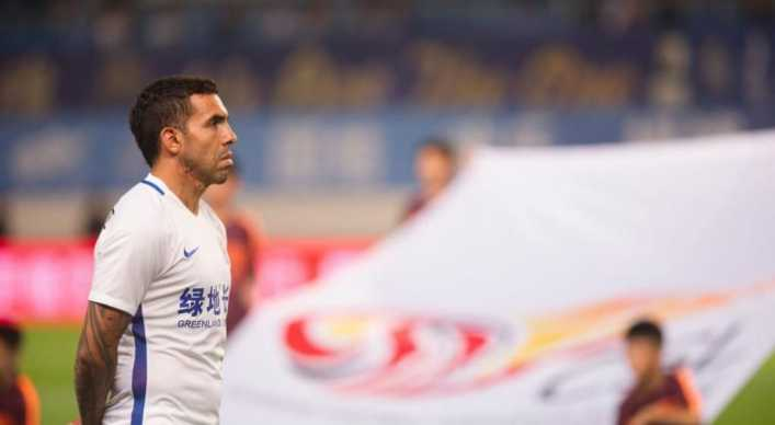 Tevez, un fiasco en China
