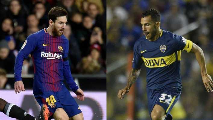 Tevez y Messi, otra vez frente a frente