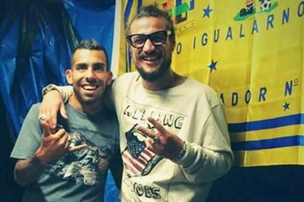 Tevez y Osvaldo, dudas para el sábado