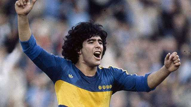 VIDEO: Todos los goles de Maradona en Boca Juniors